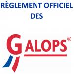 Règlement officiel des Galops